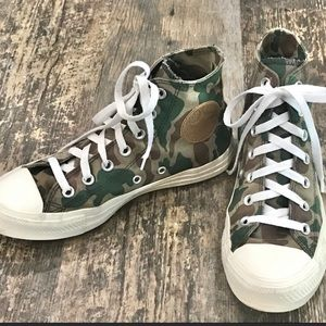 Converse Camouflage High Top Sneakers
